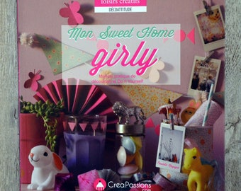 NEW - Book my sweet home girly (Decoration DIY)