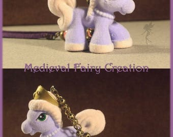 """Beautiful night Princess"" pony necklace"