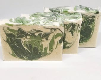 Handmade soap Aloe Vera and Cucumber
