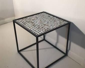 Handmade Steel Framed Table