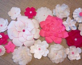 Paper flowers - decoration