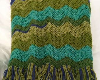 Beautiful Crocheted Blanket Throw