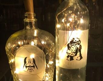 Star Wars Bottle Lamp Set