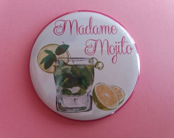 Magnet/magnet Mojito magnet decoration, 56 mm in diameter