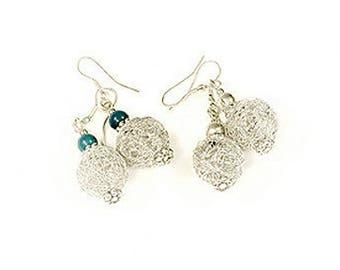 Earrings ethical and environmental issues of fair trade silver