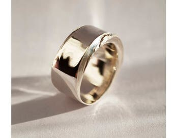 Sterling Silver ring 'Raw Style'