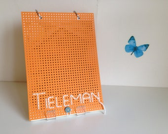 Handmade book ' Tai ' (Dutch, orange)