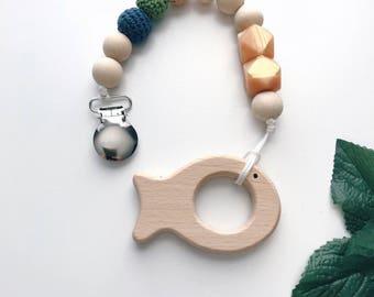 Fishbud Wooden Teether