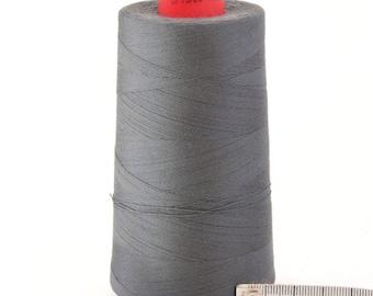 Cone thread GUNZETAL 3000 meters of grey