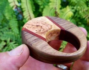 Wooden Teething Rattle 1