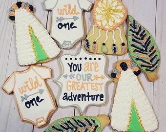 Wild One Cookies
