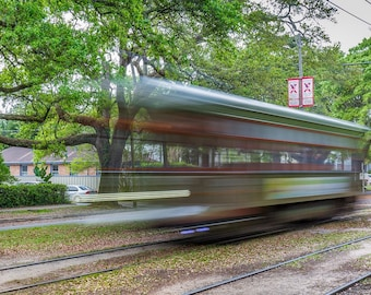 Street Car, St. Charles Ave, New Orleans