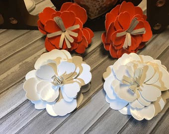 Flowers clips for babys and girls
