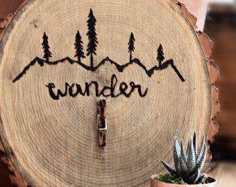Wooden Wander Photo Board