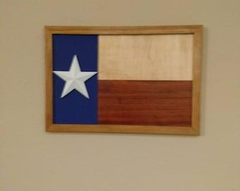 Texas Flag Art