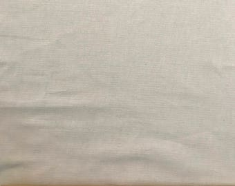 Cotton pinwale corduroy fabric in Ivory/cream