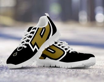 Purdue Boilermakers Football Fan Custom Running Shoes/Sneakers/Trainers - Ladies + Mens Sizes