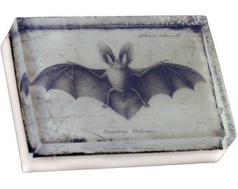 Vintage Bat A 4 oz. bath bar