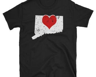 Connecticut Home Shirt I Love Connecticut T Shirt Hartford Connecticut