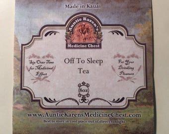 Loose Leaf Tea: Off to Sleep
