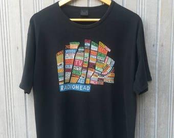 RADIOHEAD Hale of The Thief Album Cover Band Tshirt Size L