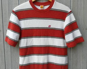 Vintage Hang Ten Stripe TShirt Size M