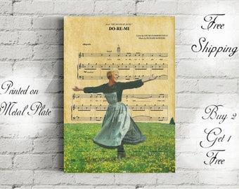 The Sound Of Music Do Re Mi Music Art Metal Print-Mother Gift-Sound of Music Poster-The Sound of Music Gift-Maria Sound of Music-Family gift