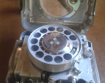 Vintage Rare Pigeon Racing Clock - La Ledoise, Belgium Made, Swiss Movement