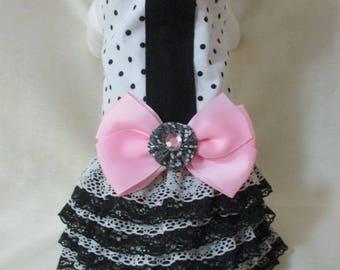 Small 4 Tier Ruffle dress w/Bow