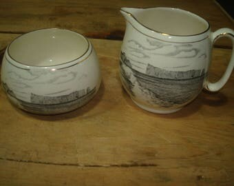 Royal Winton Grimwades Creamer & Sugar