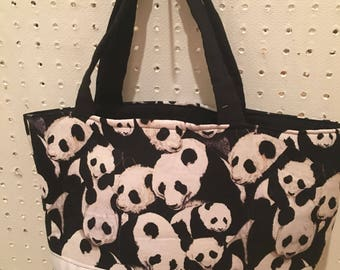 Panda purse/tote