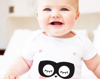 baby play suit, masked animal clothing, cute baby, baby clothing, unisex clothing, little boom baby