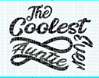 The Coolest Auntie Ever || Aunt SVG || Auntie SVG || Favorite Aunt || Best Aunt || Silhouette or Cricut || Cut FIles || Aunt Designs ||