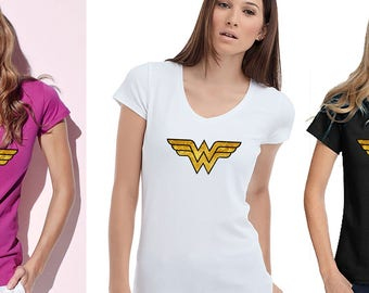 Superhero T-shirts Supergirl Shirt Woman of Steel Women's T-Shirt