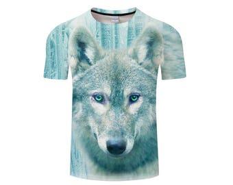 Wolf Shirt, Wolf Shirts, Wolf Tee Shirt, Wolf Tshirt, Wolves Shirt, Wolf T-shirt, Wolf, Wolves, Wolves Tshirt, Shirt, Wolf Tee - Style 5