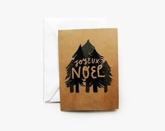 Joyeux Noel Holiday Card