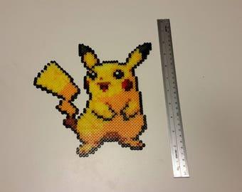 Pokemon Pikachu made bead Hama/Perler Beads