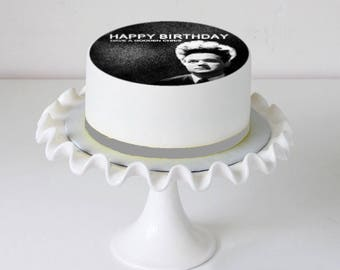 Horror Film Eraserhead Icing Cake Topper Personalised