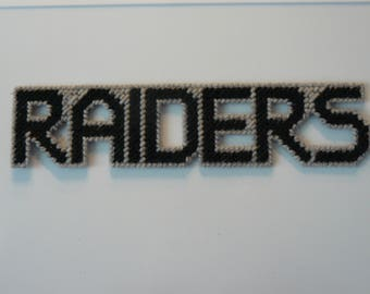 Raiders in Handmade, Needlepoint Magnets