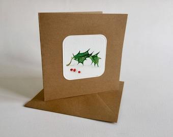 Watercolor Greeting Card HULST