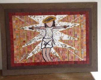 "Jesus Christ ""Superstar"" Mosaic"