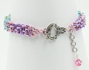 Vipera Berus chain mail chainmaille bracelet