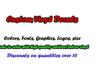 Custom Vinyl Decals Etsy - Sticker custom vinyl decals for carcustom vinyl decals and stickers by stickythingz on etsy