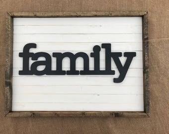 Rustic Modern Farmhouse Signs / Wall Decor