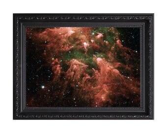 Carina Nebula Nasa 'All Pillars Point to Eta' Poster or Art Print
