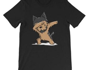 Cute Yorkshire Terrier Dog Dabbing T-Shirt Funny Yorkie Dab Dance Gift Shirt