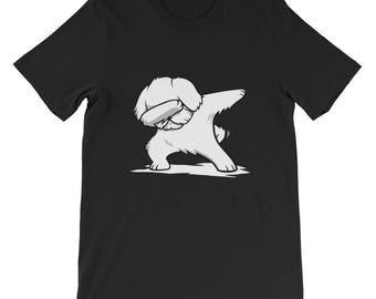 Cute Dabbing Maltese T-Shirt Funny Dog Gift
