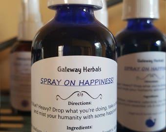 Spray On Happiness!