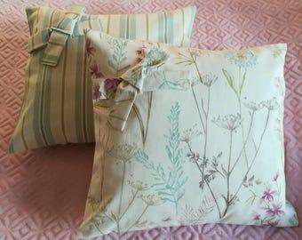 Pretty hand made cushions