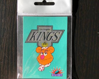 The Muppets L.A Kings Fridge Magnet